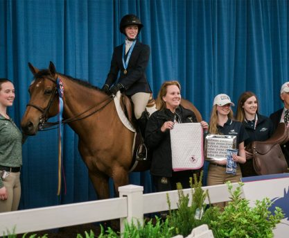 UCF Student Wins Equestrian National Championship Title