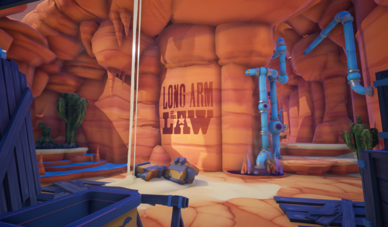 screen shot of the Long Arm of the Law video game
