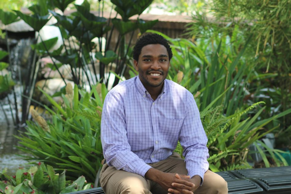 International and global relations major Caleb Archie became interested in studying China during an internship with the U.S. Department of Energy last summer.