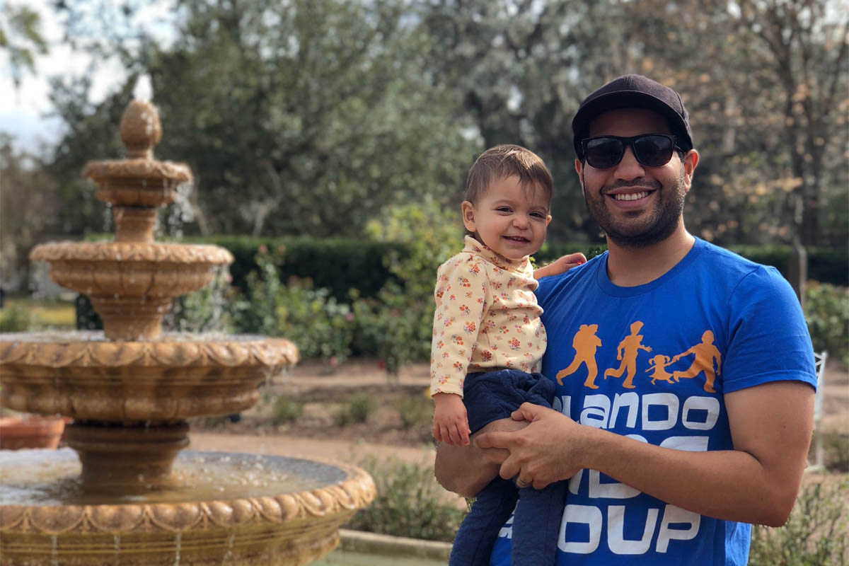 Alum Marlon Gutierrez started the Orlando chapter of City Dads Group to develop a community of fathers who support each other.