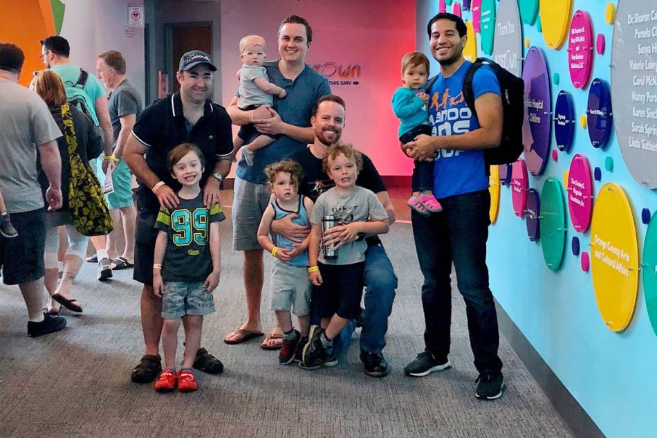 Orlando Dads Group's variety of outings help fathers connect with one another while spending time with their children.