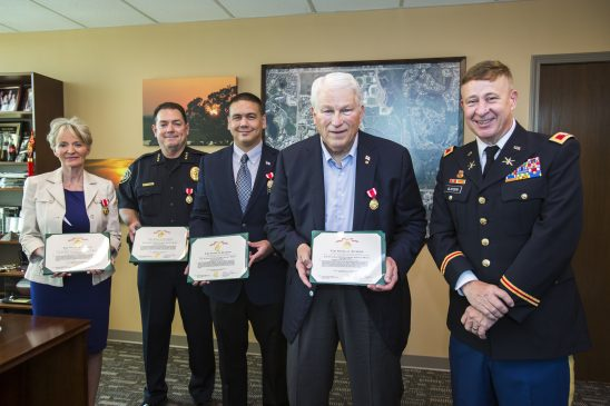 Florida National Guard Awards Distinguished Service Medals to UCF Leaders