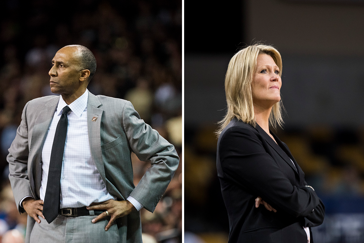 "Johnny Dawkins and Katie ""ABE"" Abrahamson-Henderson both joined UCF Athletics in 2016."