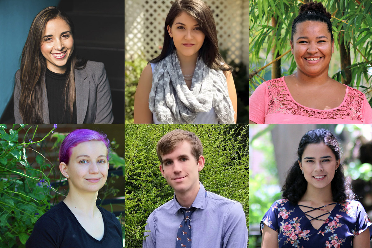 Six students with focuses varying from French to engineering earn scholarships to participate in international exchange programs.