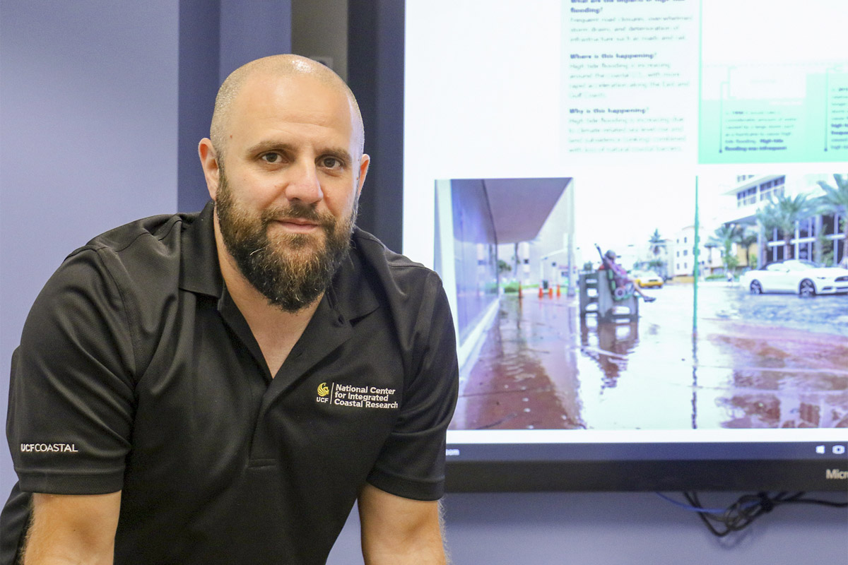 Assistant Professor of Civil Engineering Thomas Wahl joined UCF in 2017 and is part of the university's National Center for Integrated Coastal Research.