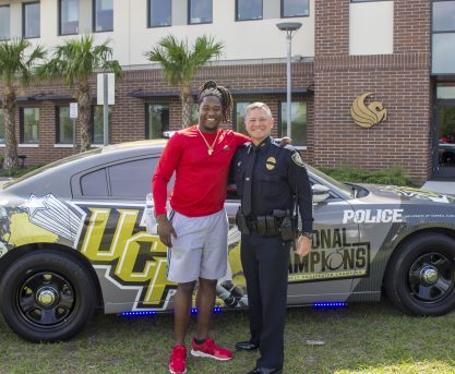 New UCF Police Chief's Goal: Do the Right Thing