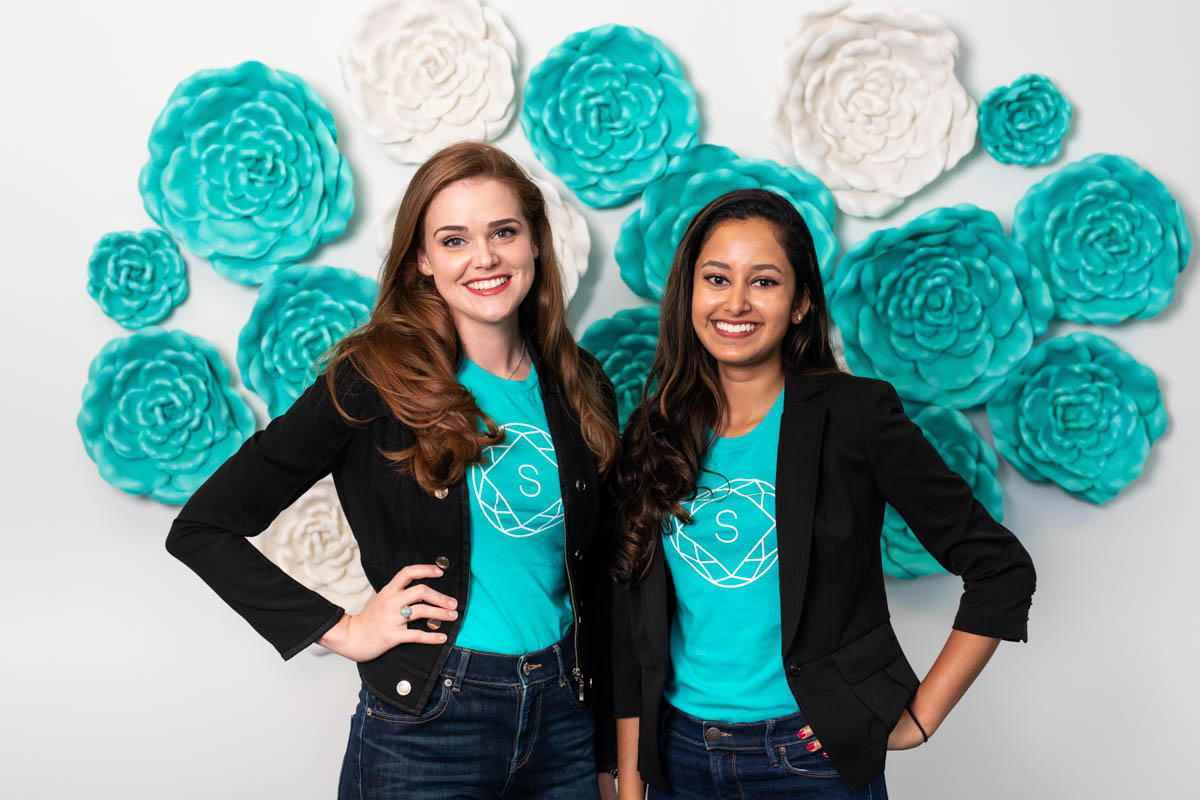 Alumnae Kristen Wiley and Theresa Joseph run Statusphere, a company that pairs companies with social media influencers.