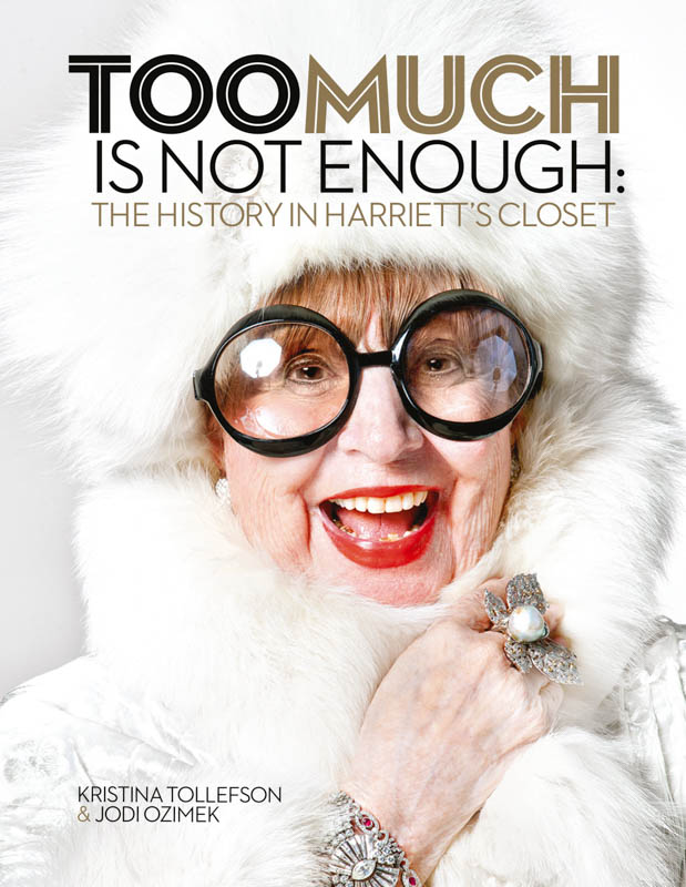 Tollefson and Ozimek's book, <em>Too Much Is Not Enough</em>, provides a peek inside Lake's closet.