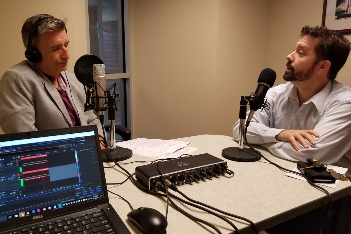 "college of business launches 1st podcast, ""is this really a thing"