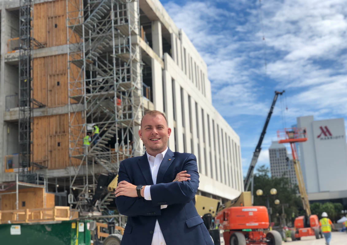 UCF Downtown Assistant Vice President Mike Kilbride '12, along with 12 other Knights, made Orlando Business Journal's 40 Under 40 list this year.