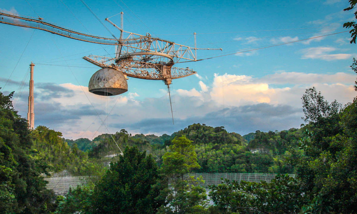 In April, UCF began managing Arecibo Observatory in Puerto Rico.