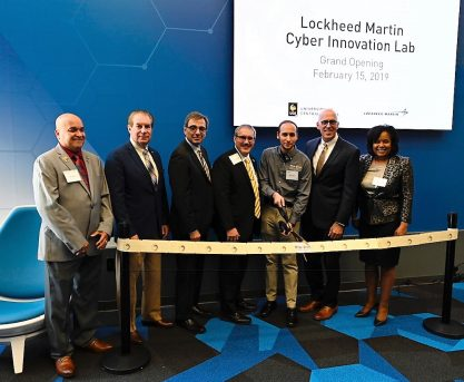 UCF Opens Doors to New Lockheed Martin Cyber Innovation Lab