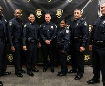 UCF Police Swears in Six New Officers