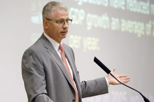 Growth of State Economy to Outpace U.S. Economy, Snaith Predicts