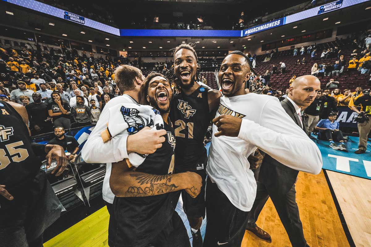 76105eef7eb UCF Makes History at NCAA Tournament - University of Central Florida ...