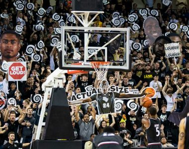 PHOTOS: What A Rush! No. 25 UCF Men's Basketball Tops No. 19 Cincinnati