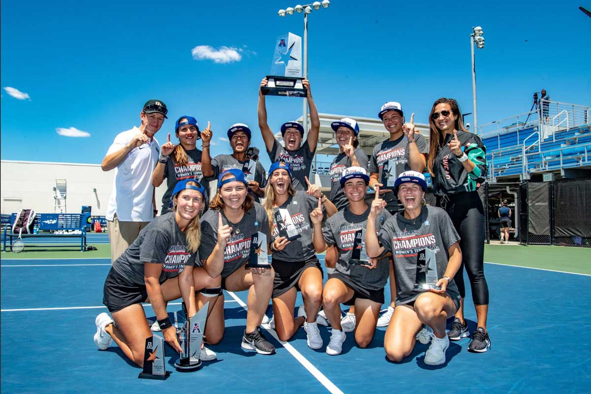 UCF Tops USF for AAC Women's Tennis Championship - University of