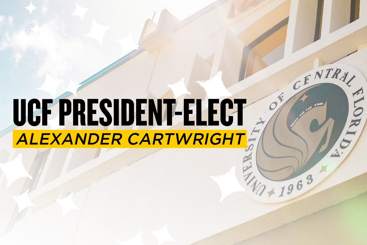"""UCF President-Elect Alexander Cartwright"""