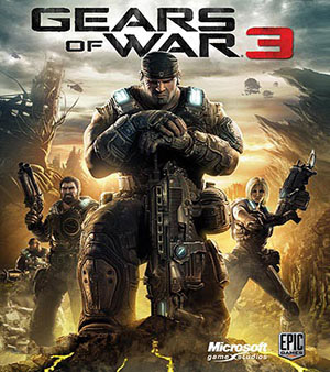 cover art for Gears of War 3
