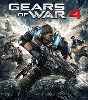 Cover art for Gears of War 4