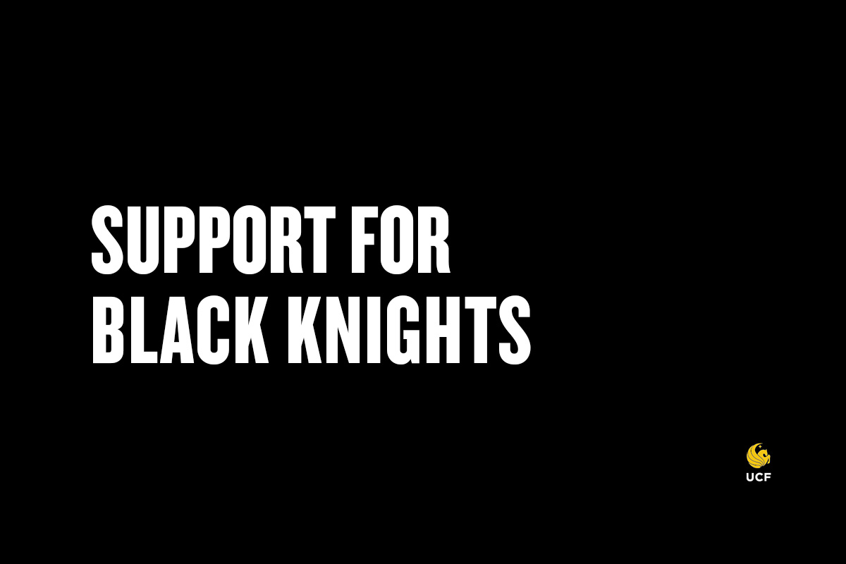 """UCF Support for Black Knights"""
