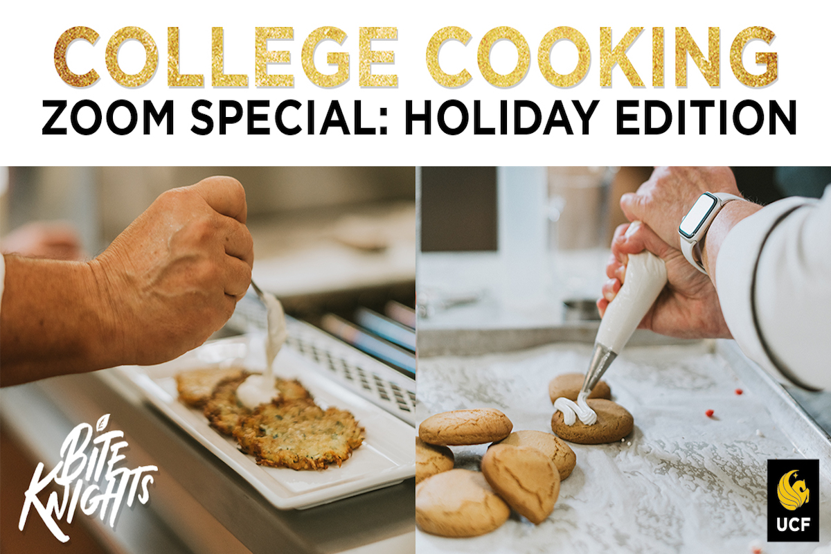 College Cooking Zoom Special: Holiday Edition