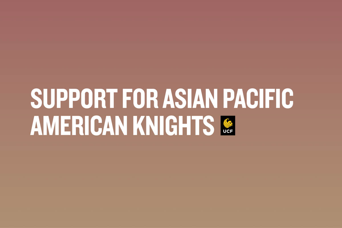 """""""Support for Asian Pacific American Knights"""""""