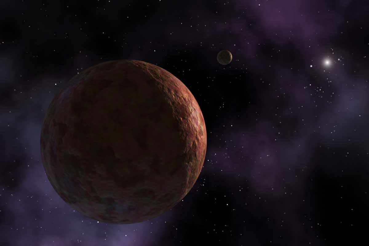 Artist visualization of Sedna, a TNO. Credit: NASA/JPL-Caltech/R. Hurt (SSC-Caltech)