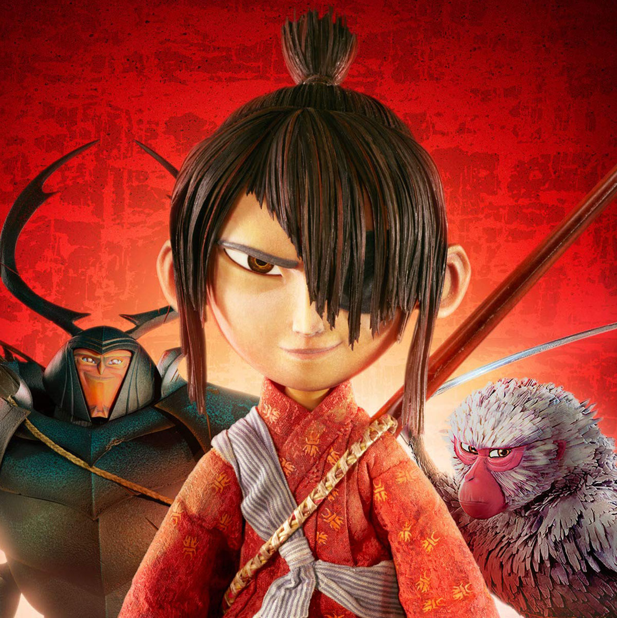Kubo and the Two Strings characters