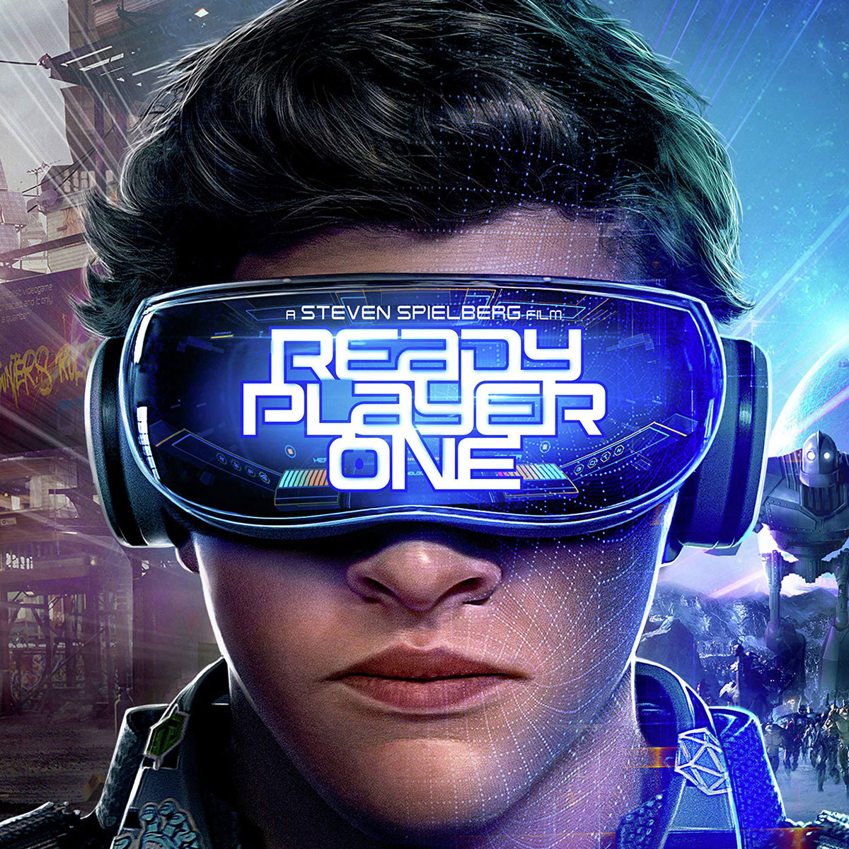 Ready Player One main character with VR headset