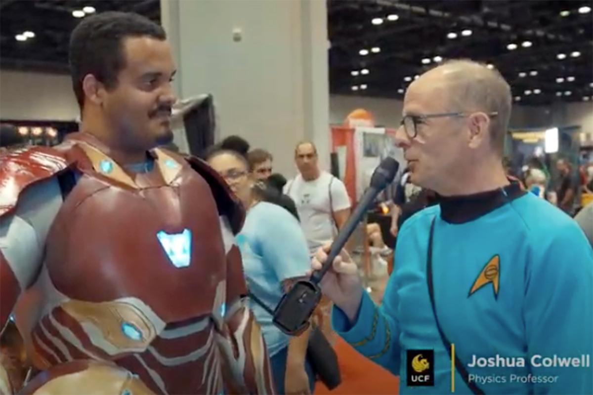 interview with a pop culture convention attendee