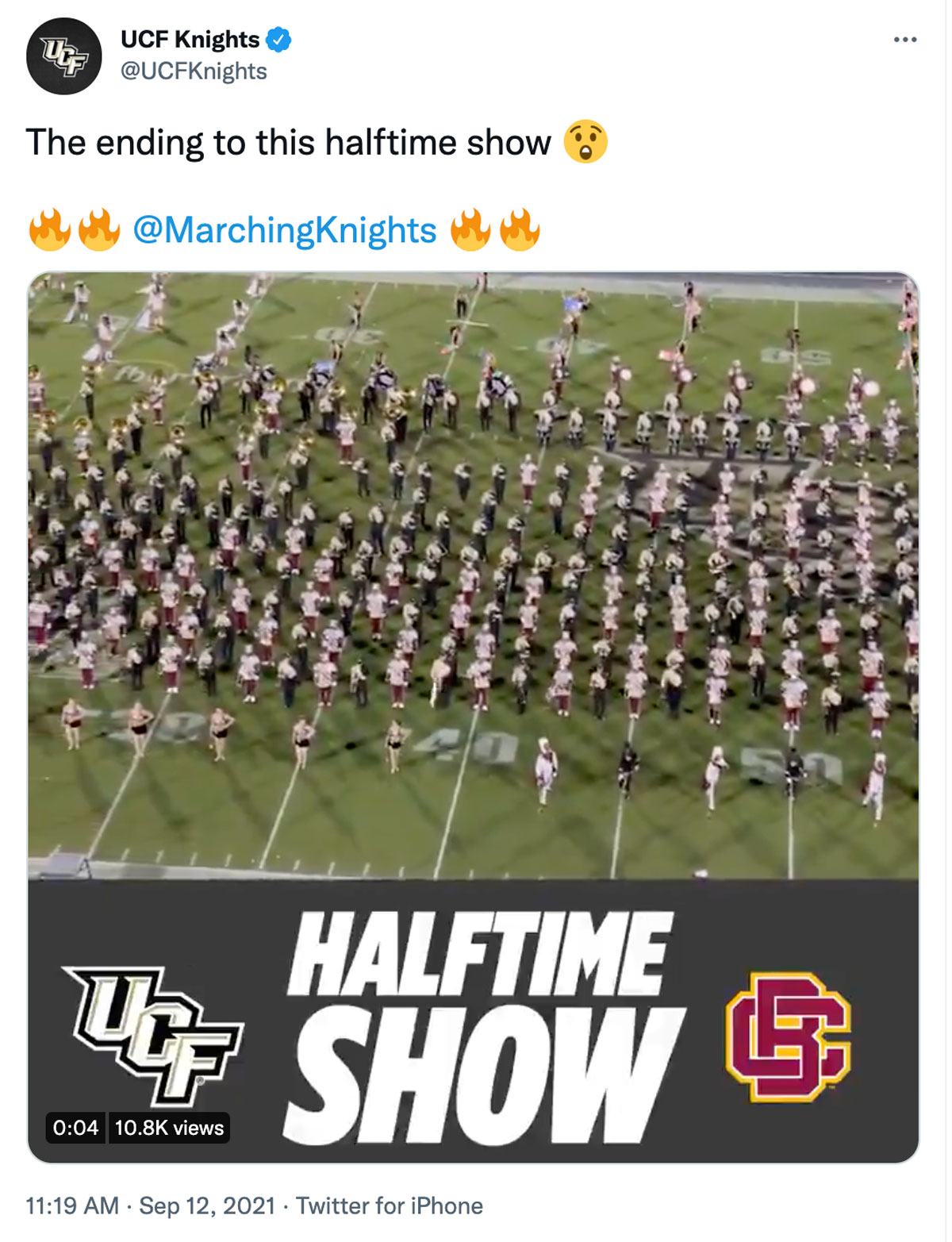 screen grab twitter halftime show