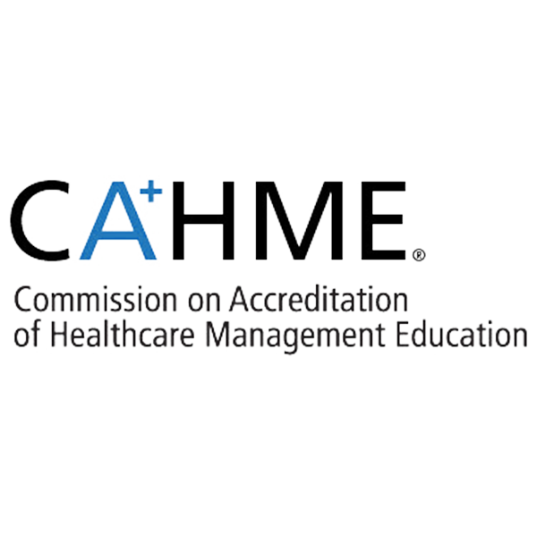 The Executive MHA at the University of Central Florida is accredited by the Commission of Accreditation of Healthcare Management Education. CAHME is the only organization recognized to grant accreditation to individual academic programs in this field.