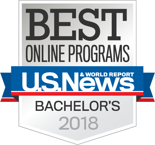 Best Online Bachelors Degree - U.S. News & World Report 2018