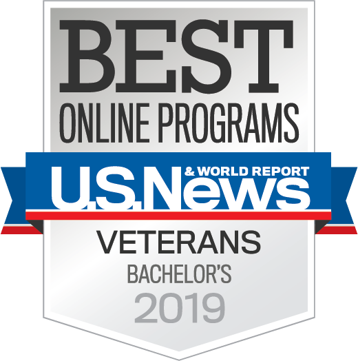 Best Online Veterans Bachelors Degree - U.S. News & World Report 2019