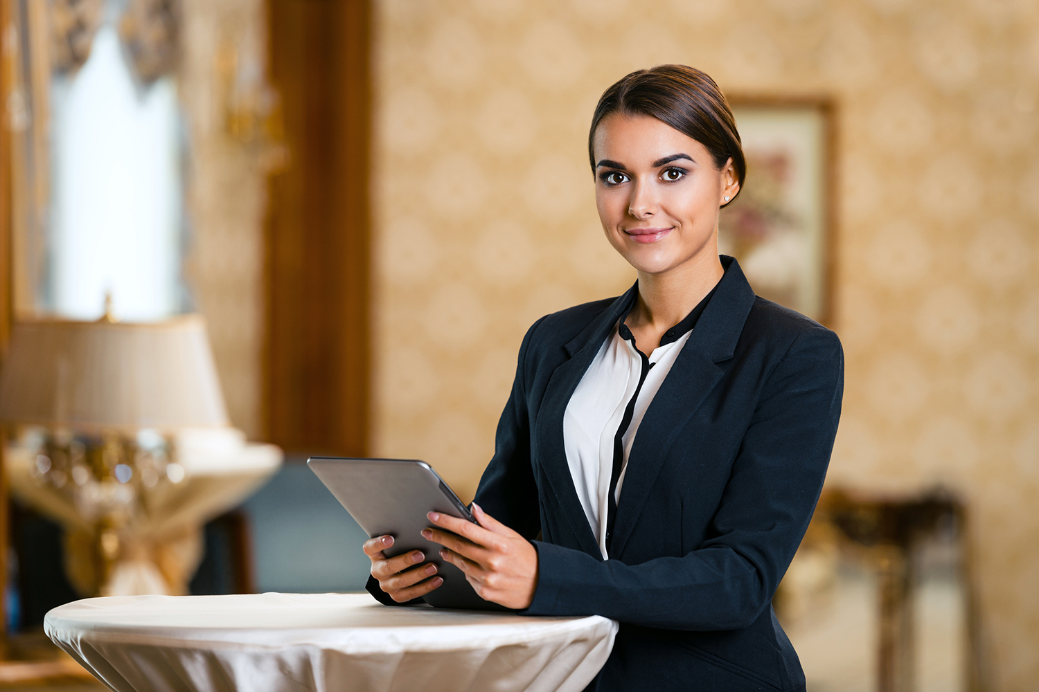 Hospitality Professional At Work