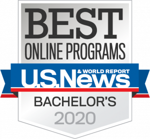 U.S. World News ranks UCF in the top 20 of all online Bachelor programs.