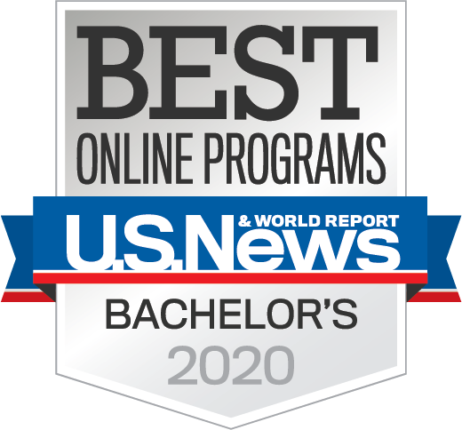 U.S. World News ranks UCF in the top 15 of all online Bachelor programs.