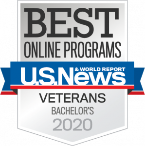 Best Online Veterans Bachelors Degree - U.S. News & World Report 2020