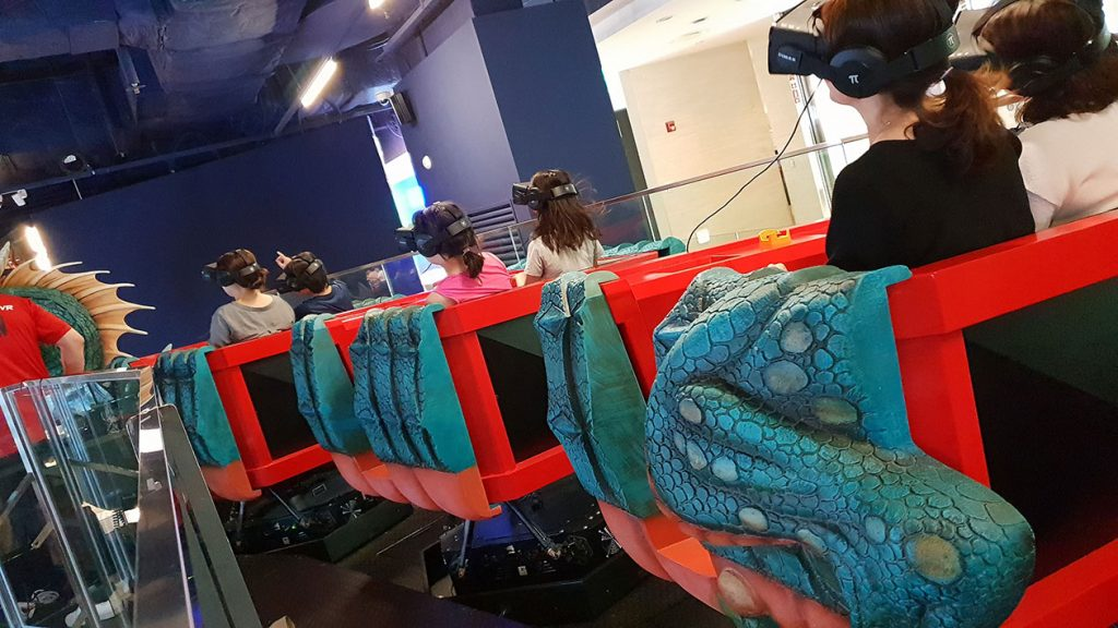 VR Theme Parks: Revolutionizing Amusement Hospitality by Enhancing Visitor Experience