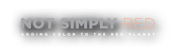 Not Simply Red - Adding Color to the Red Planet