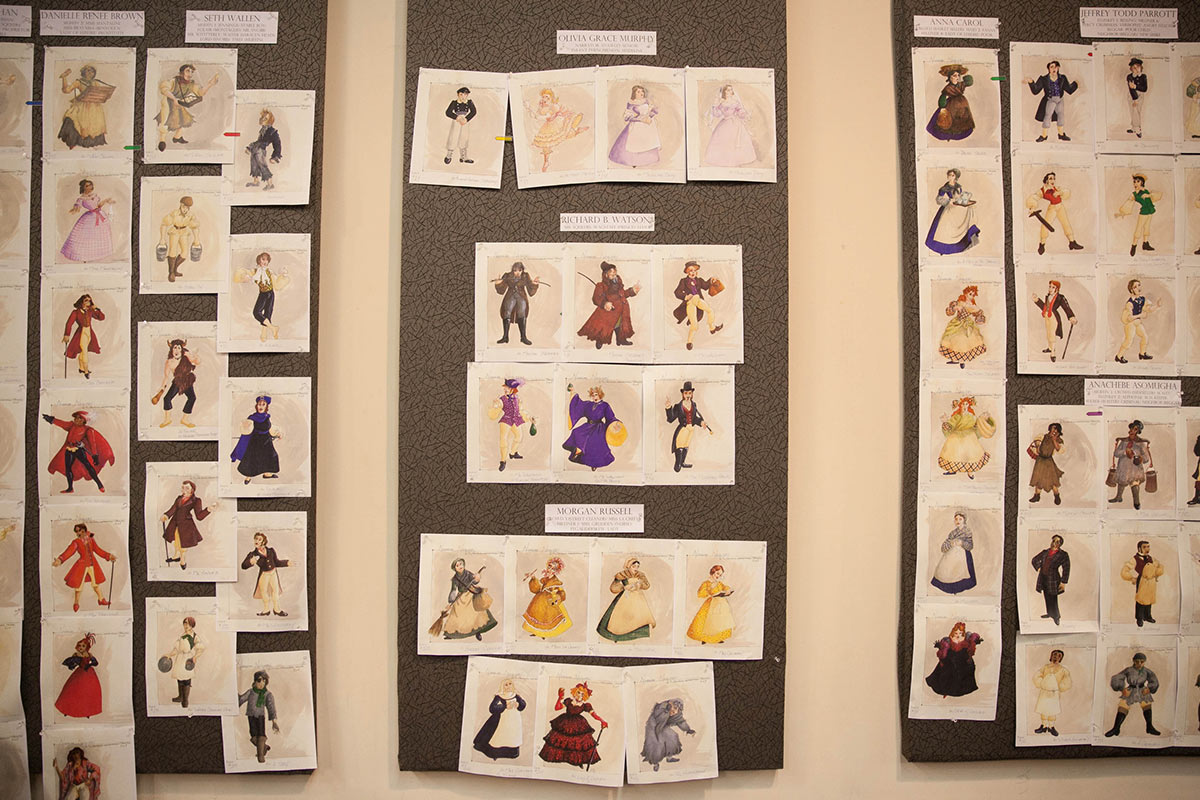 Costume Boards