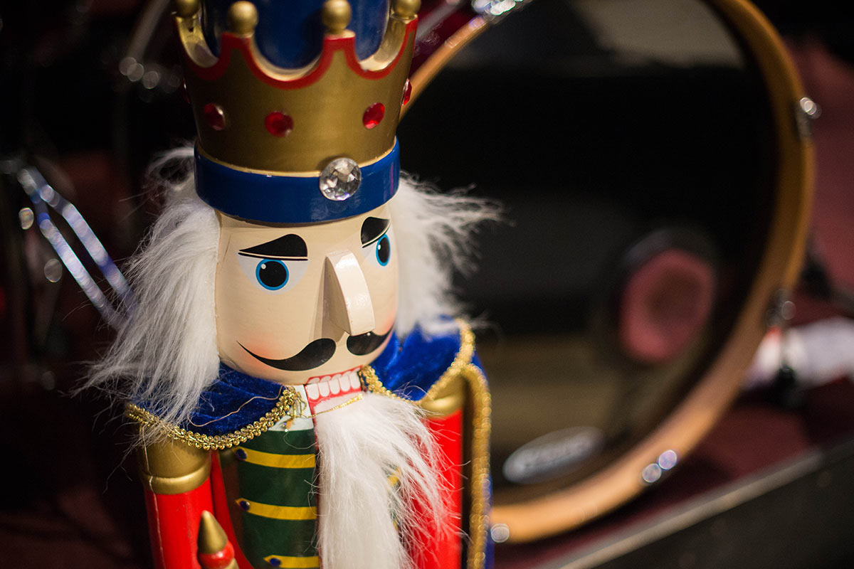 Close-up of Nutcracker