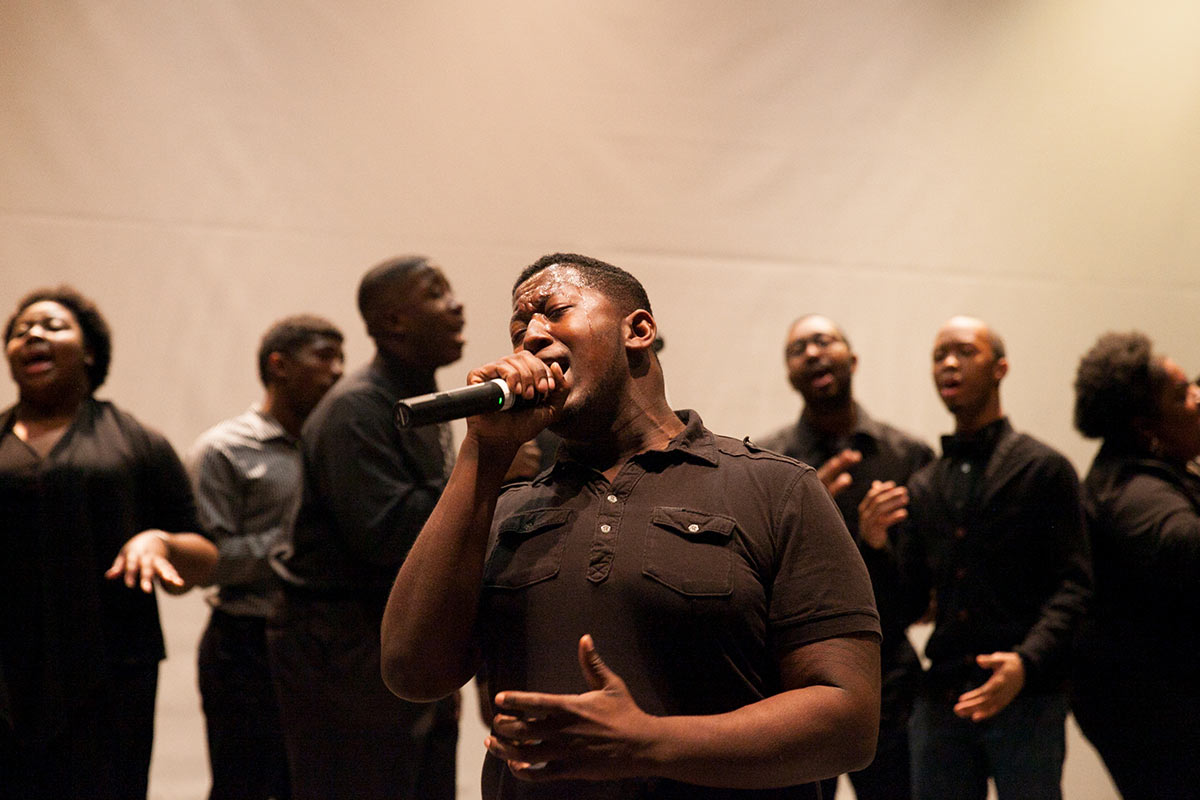 events performances and other happenings in the community gospel choir