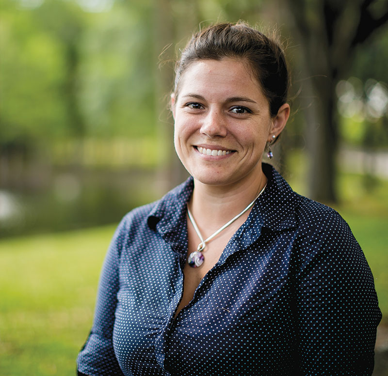 Air Force veteran Stacy Schumpert, who served as president of the Student Veterans of American UCF Chapter, returned to college to pursue a master's degree in social work at the University of Central Florida
