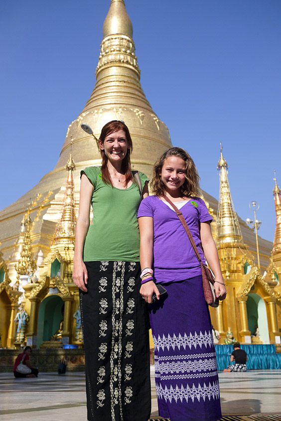 At-Shwedagon-Pagado,-the-holiest-temple-in-Myanmar,-with-Ana