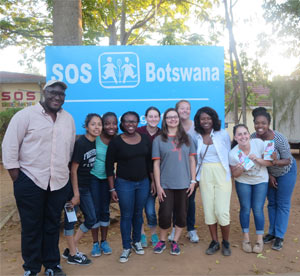 Under the guidance of Professor Karen Biraimah, UCF students traveled to Botswana for two weeks of service learning and cultural exchange programs.