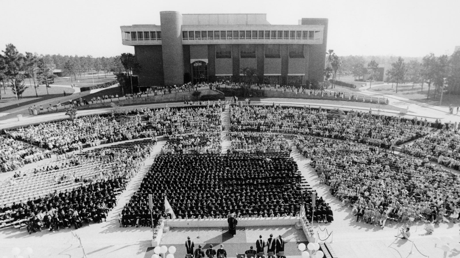 Back in the Day: Commencement Through the Years