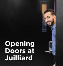 Opening Doors at Juilliard
