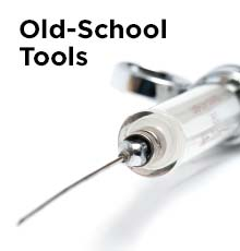 Old-School Tools